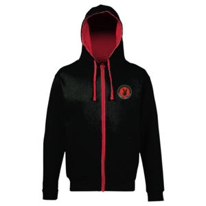 Coney Hall zipped hoodie Thumbnail
